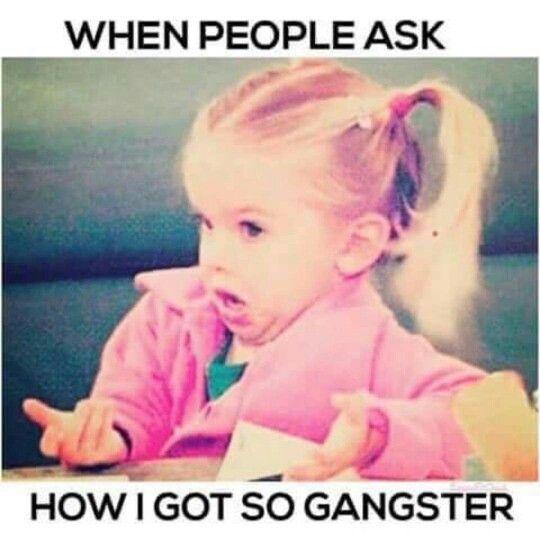 Thug life, fools!