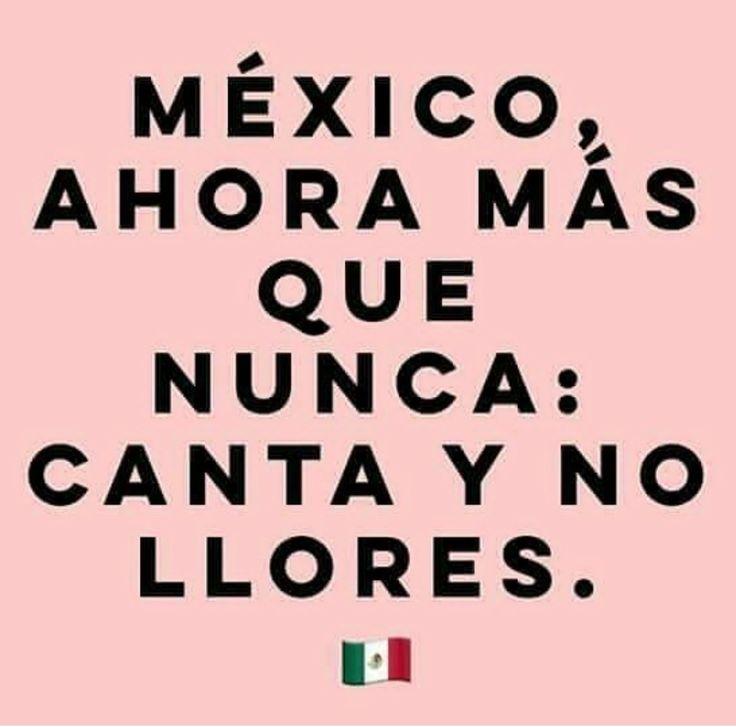 México, te han golpeado los huracanes más fuertes de la historia, te han golpeado terremotos terribles en los últimos días, te han gobernado incompetentes que solo se han dedicado a saquearte, y a pesar de todo, siempre encuentras la manera de seguir de pie... FUERZA MEXICO, una más no te va a detener ❤❤❤
