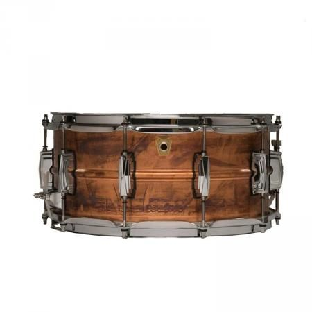 "Ludwig LC663 Copper Phonic 14 x 6.5"" snare drum for sale 