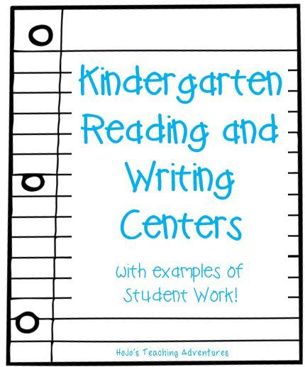 Kindergarten Reading and Writing Centers with FREEBIES and Examples of Student Work --- It's always nice to see what works in other classrooms to learn what you might be able to tweak and make your own!