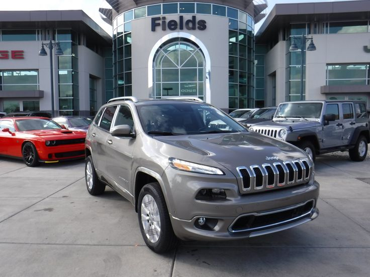 Our Big Finish Event is going on now to close out 2016! It's the final day for special financing on our 2016 #Jeep #Cherokees. Take a look at this 2016 #Jeep #Cherokee - in light Brownstone with Black Interior and well-equipped with Technology and Heavy Duty Protection Groups. Schedule your test drive today and take advantage of Special Financing. Stock Number J29221. Don't miss out! Learn more at (877) 399-4755 or on our website at http://www.fieldscjd.com  We would like to wish all of our…