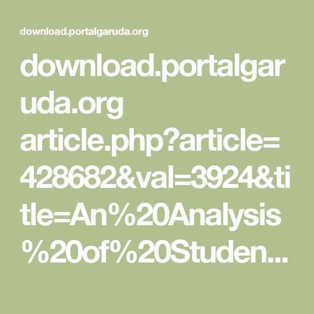 download.portalgaruda.org article.php?article=428682&val=3924&title=An%20Analysis%20of%20Students%C3%A2%E2%82%AC%E2%84%A2%20Errors%20in%20Writing%20Descriptive%20Texts