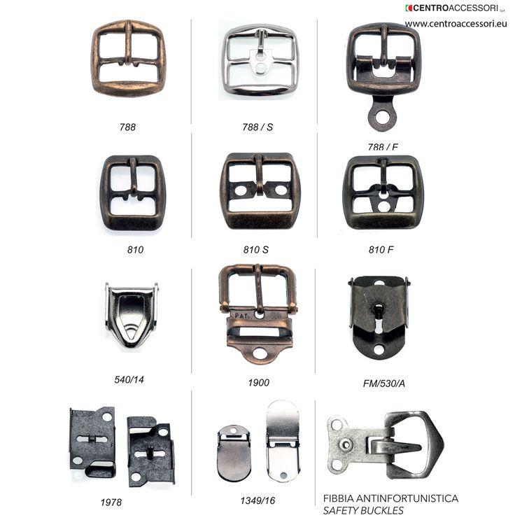 Fibbie tranciate, esempi. Sheared buckles, examples. #CentroAccessori