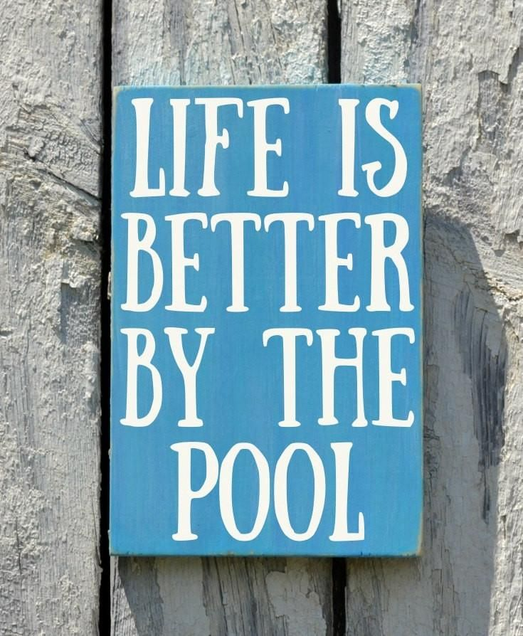 Swimming Pool Plaques Signs Wall Decor: Best Pool Signs Ideas On Pinterest