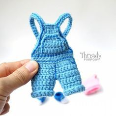 Crochet dungarees. (Inspiration).