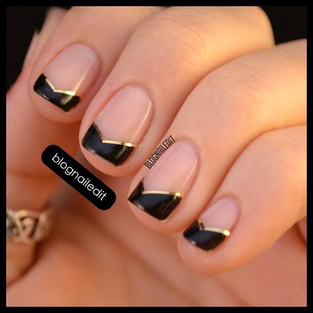 You could probably use gold stripping tape for more a metallic look and  precise lines. Natural Nail Designs ... - Best 25+ Graduation Nails Ideas On Pinterest Prom Nails, Acrylic