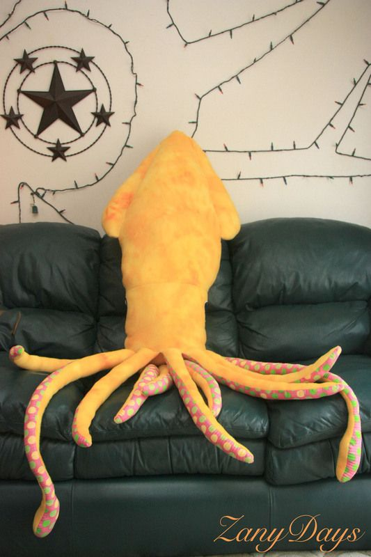 Giant Squid Body Pillow & 17 best squid plushie images on Pinterest | Giant squid Plush and ... pillowsntoast.com