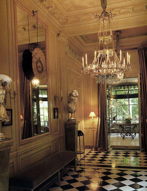 Apartment of Pierre Berge, Paris. Photo: Ivan Terestch.