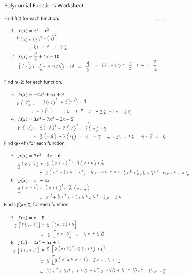 Algebra 2 Factoring Worksheet Fresh Algebra 2 in 2020