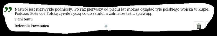 Dziennik Powstańca / msza