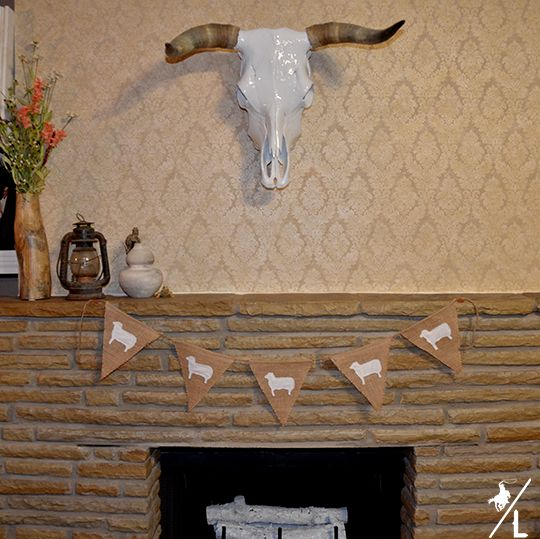 A Cowboy's Life: DIY Easter Bunting