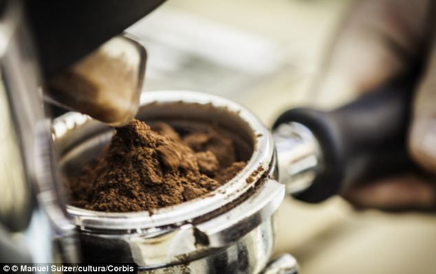 Scientists have found a way of creating alcohol from used coffee grounds.