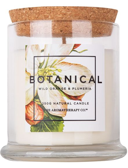 Create a lovely and fresh aroma in your living room this Christmas with one of The Aromatherapy Co.'s Botanical candles! Available from Farmers.