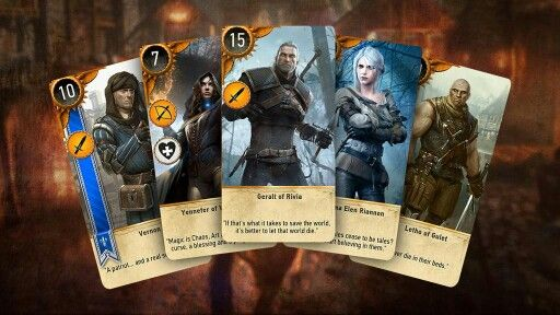 Gwent. The most addicting card game ever. #TheWitcher3