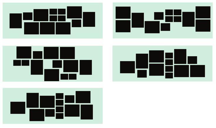 25 best ideas about photo wall arrangements on pinterest wall picture arrangements picture. Black Bedroom Furniture Sets. Home Design Ideas