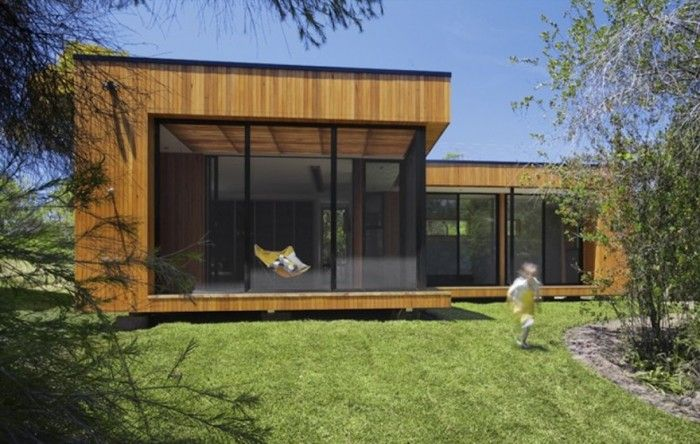 These modular homes generate more energy than they consume