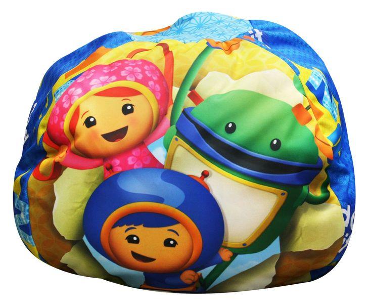 Team Umizoomi Bean Bag Milli Bot And Geo Cool Bean Bag