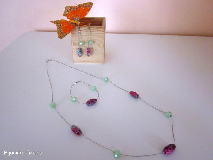Aspettando la primavera! Handmade bijoux by Tiziana