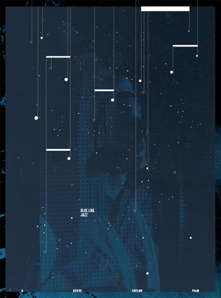 Blue Like Jazz Poster - Michael Forrest. Awesome.