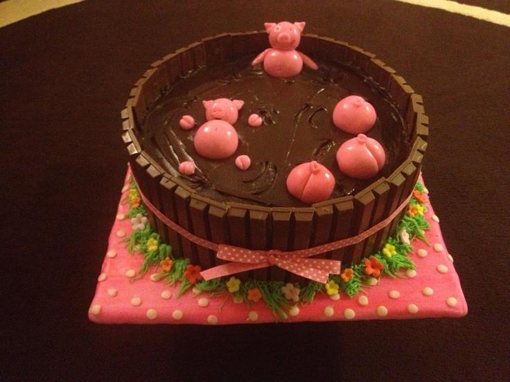 Cake Decorating Mud Cake Recipe : 24 best images about Cake decorating on Pinterest Cake ...