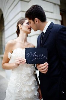 Love! In black and white! WeClickd.com - The Social Network for Weddings