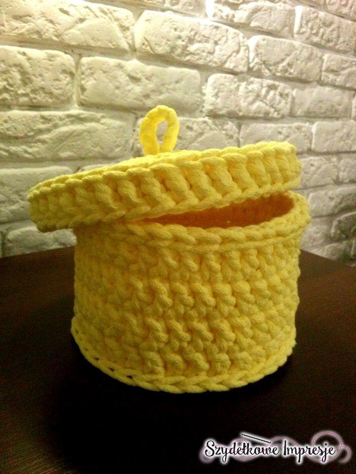 Szydełkowe Impresje  #crochet #handmade #diy #rękodzieło #minty #szydełkowanie #kosz #pink #bawełnianysznurek #cottoncord #knniting #druty #szydełko #mięta #róż #rug #carpet #4home #mylovelyhome #withpassion #4babies #scandi #scandinavianstyle #decor #decorating #roznosci #white #carnation #flowers #yellow #słoneczny #koszyk #żółty