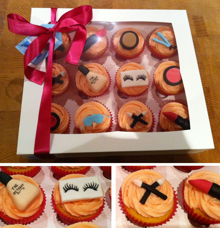 Nail Cakes Bakery: Beauty Salon Cupcakes