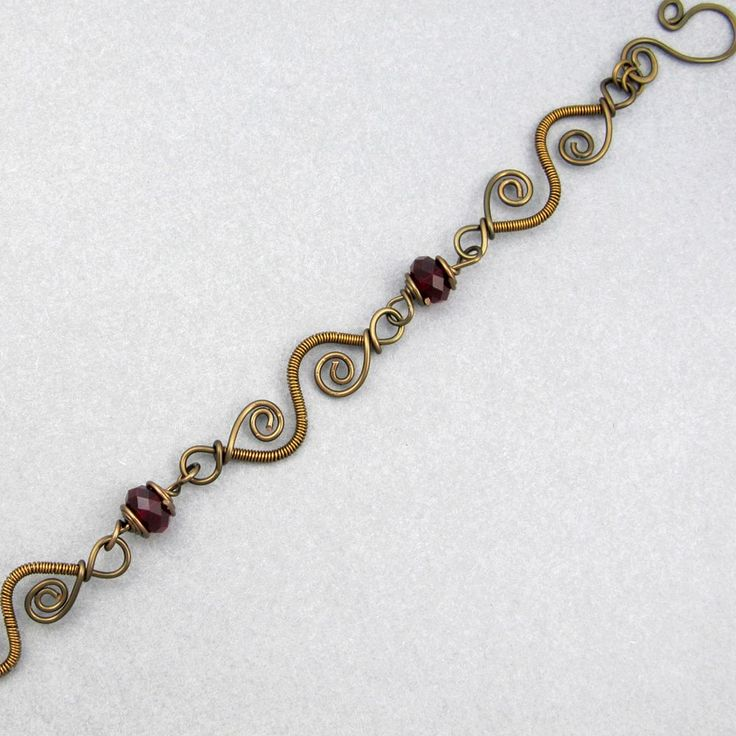 248 best Wire Wrapped Bracelets images on Pinterest | Wire bracelets ...