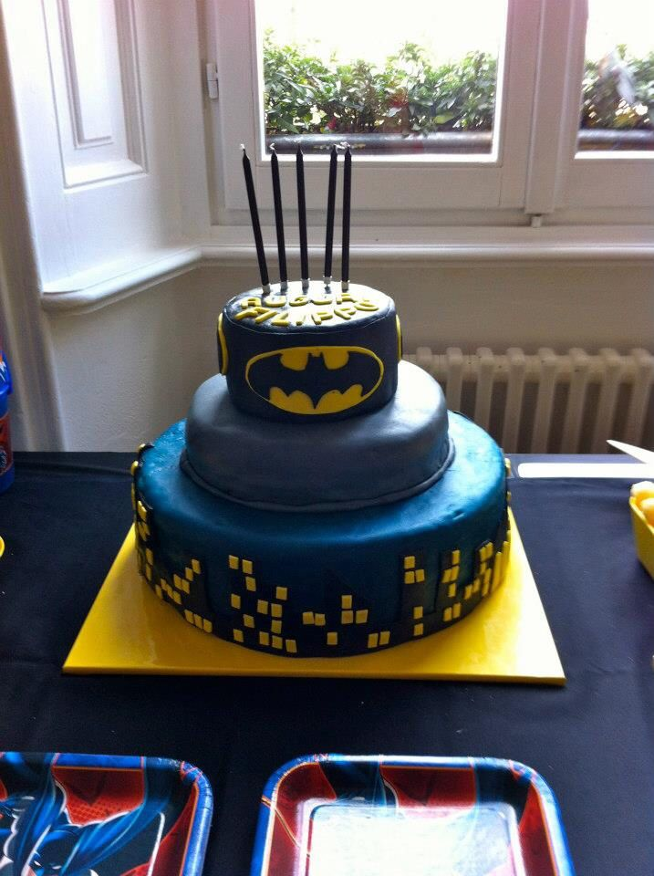 Batman Cake! By Serena