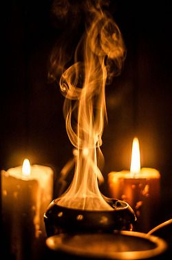 #smoke #flames #sacred #altar #space