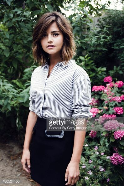 jenna coleman haircut