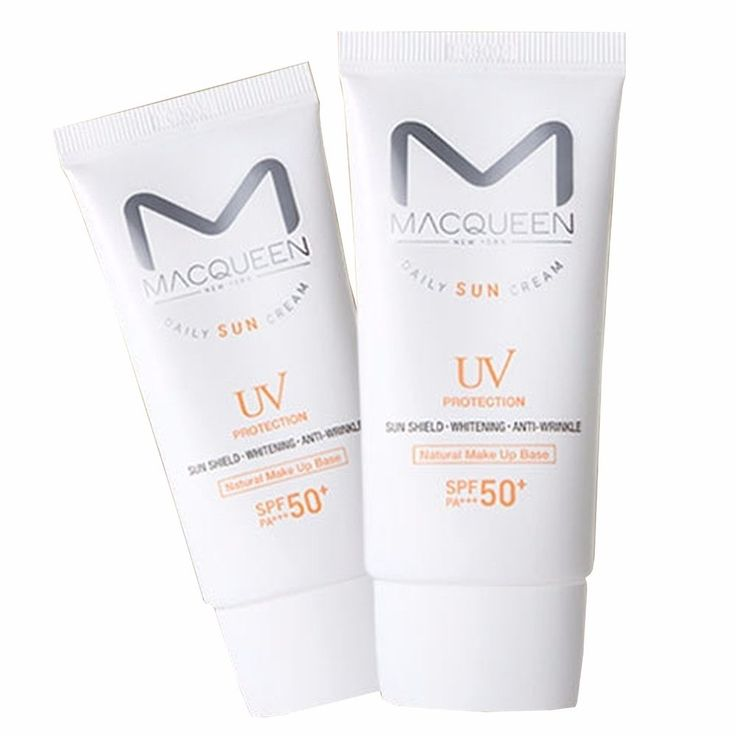 Macqueen Newyork UV Block Make up Base Daily Sun Cream 50g SPF50+ PA+++ #MacqueenNewyork