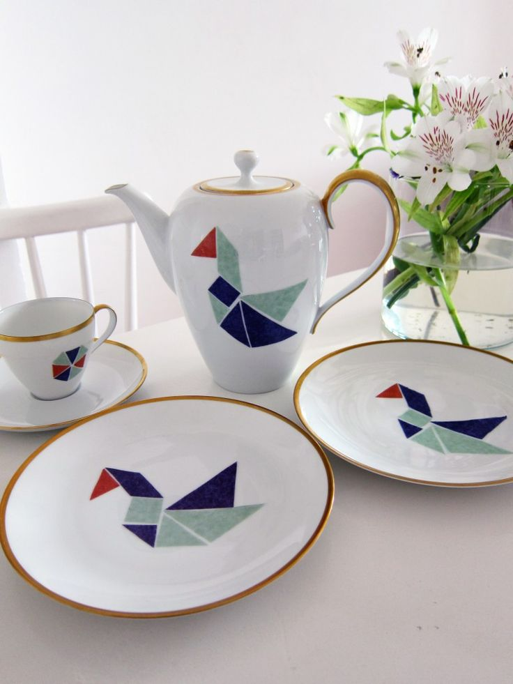 DaWanda DIY-Special: Porzellan verschönern mit Seidenpapier von Citoyennes | DaWanda Blog