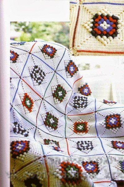 solid granny squares crochet instructions