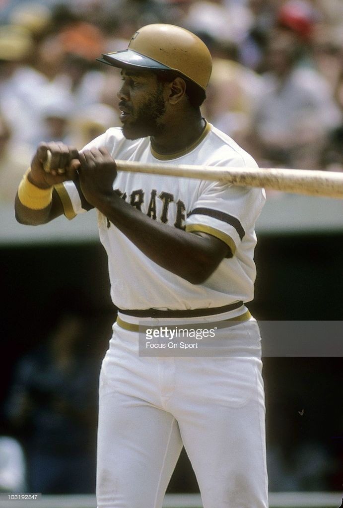 First baseman Willie Stargell #8 of the Pittsburgh Pirates standing in the batters box waiting on a pitch circa 1971 during a Major League Baseball game at Three Rivers Stadium in Pittsburgh, Pennsylvania. Stargell played for the Pirates from 1962-82.