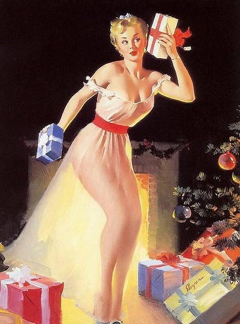 Elvgren: Elvgren Pinups, Pinup Burlesque Showgirls, Vintage Pinup, Pinup Girls, Christmas Elvgren, Http Cadeauoriginal Blog Com, Pinup Art, Merry Christmas, Cadeau Original