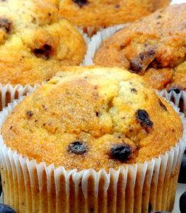Gluten-Free/Paleo Blueberry Muffins