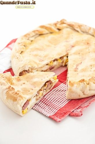Pizza rustica di Pasqua -- a perfect Italian treat for easter... meats.. eggs.. herbs.. cheese.. delish!