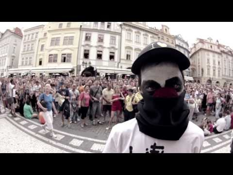 """Rumpel - Illegal Parkour Freerun to """"Life is Porno: Beginning"""" in the streets of Prague!"""