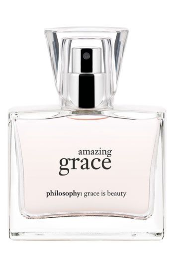 philosophy 'amazing grace' fine perfume  wish they'd bring back the original formula.  This new version just isn't the same.   It's annoying.