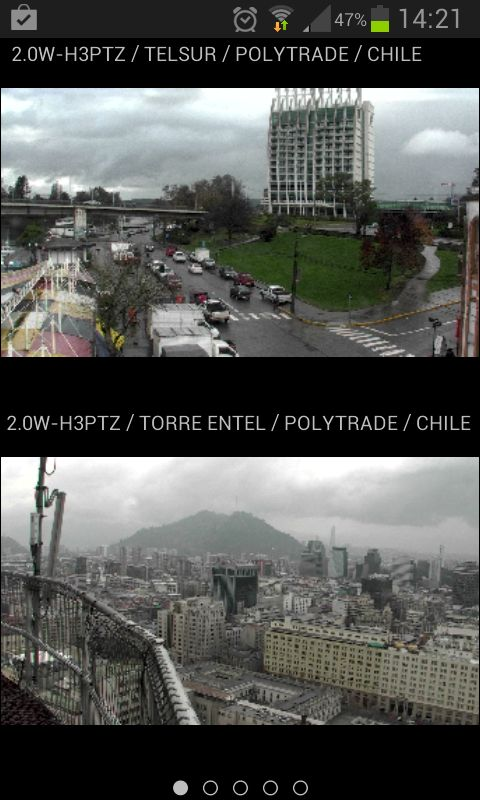 Avigilon Santiago de Chile y Avigilon Valdivia, Entel y Telsur Avigilon en Chile