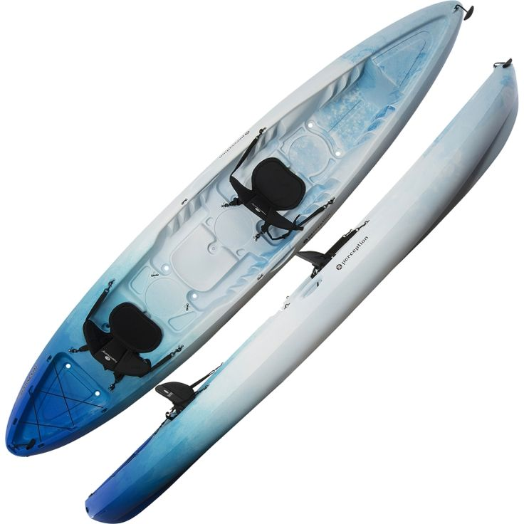Perception rambler 135 tandem kayak dick 39 s sporting for Dicks sporting goods fishing kayak