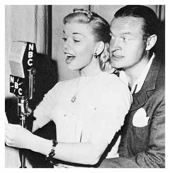 "Doris Day and Bob Hope. ""I have seen what a laugh can do. It can transform almost unbearable tears into something bearable, even hopeful,"" Bob Hope."