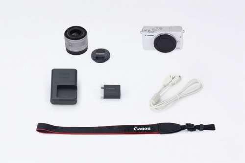 Prezzi e Sconti: #Eosm10wh15 Canon  ad Euro 421.11 in #Canon #Fotografia videocamere fotocamere