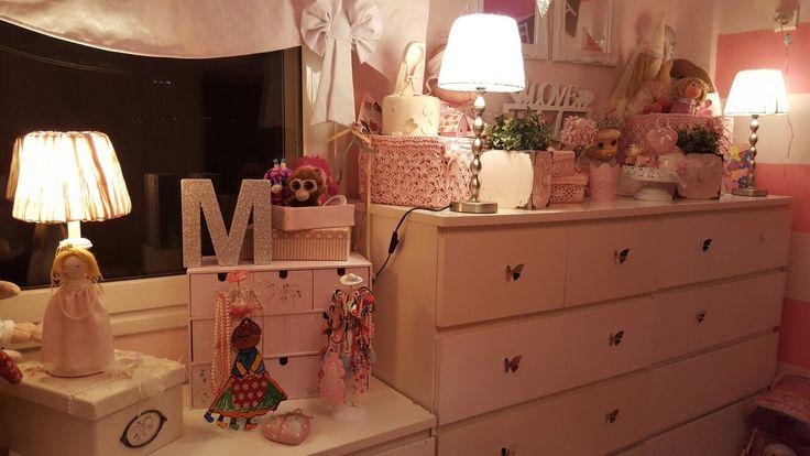 Pink kids room so girly
