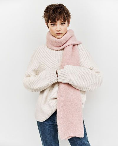 SOFT KNIT SCARF - Available in more colours