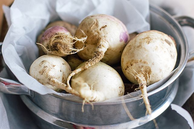 Lebanese Pickled Turnips Kabees El Lift