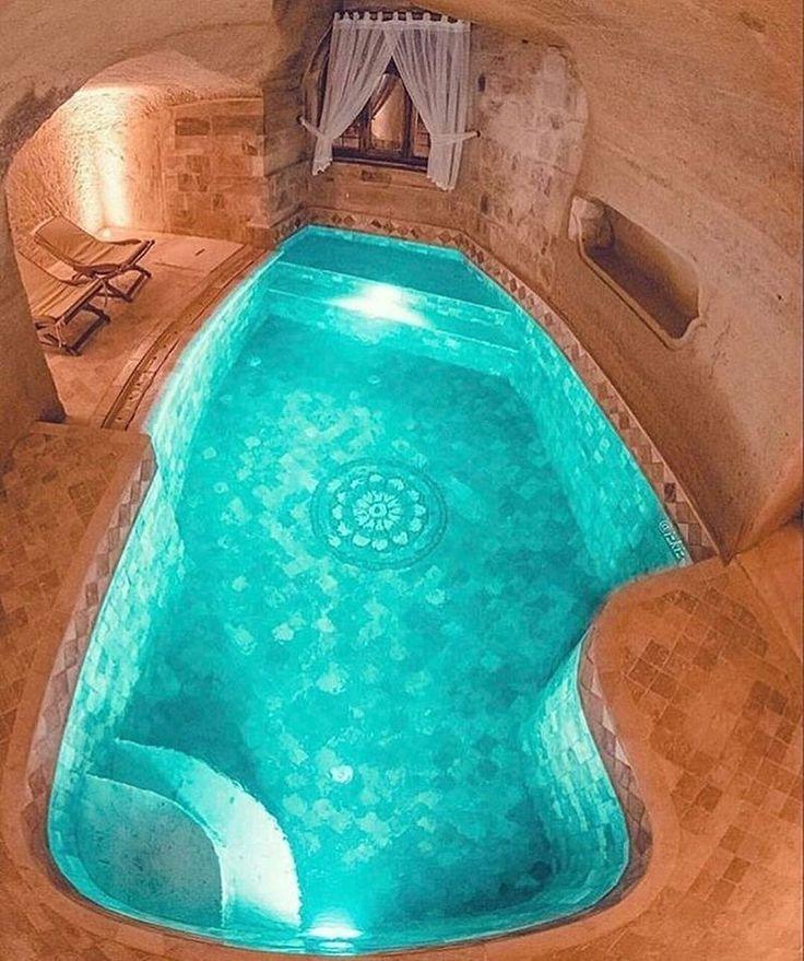 Kayakapi Premium Caves Cappadocia Turkey Regram Via We Love Hotels Luxury Swimming Pools Pool Cappadocia