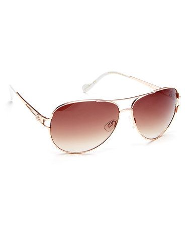 Look at this #zulilyfind! Rose Gold Aviator Sunglasses by Jessica Simpson Collection #zulilyfinds Click on the link to get yours now before they sell out!