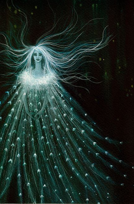 ≍ Nature's Fairy Nymphs ≍ magical elves, sprites, pixies and winged woodland faeries - ...this one appears to be a sylph
